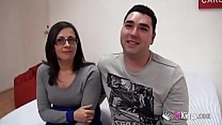 They met on the internet. this day they fuck for us