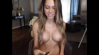 Busty fit Married slut fingering on web camera www.passionc...