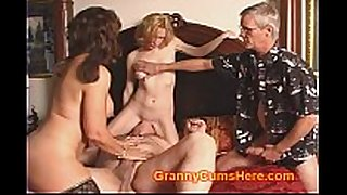 Taboo mama and daughter have cum party
