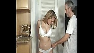 Door to door non-professional BBC whore tied and gagged part 1