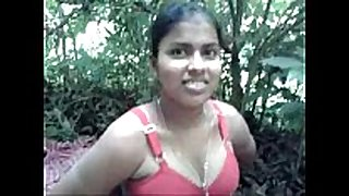 Desi village sexually sexually lascivious white whore screwed by neighbour in forest