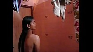 Self recorded mms movie scene scene of hot indian college g...