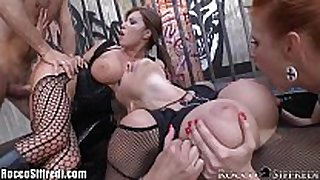 Roccosiffredi big titted anal groupsex with ale...