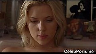 Scarlett johansson lingerie and sex scenes