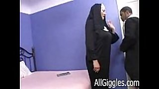 Interracial older nun - dana hayes
