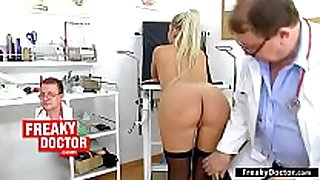 Gyno-chair exam of small lalin non-professional Married bitch ferrara gomez
